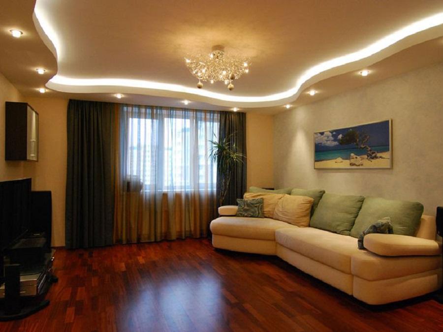 ремонт квартир в картинках зала это основном