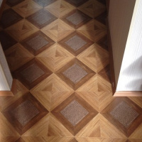Ламинат Hessen Floor Grand 1568-11 Кожа золото
