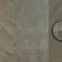 Каменный виниловый пол Progress Natural Stone 604 Gleam Slate Grey-green