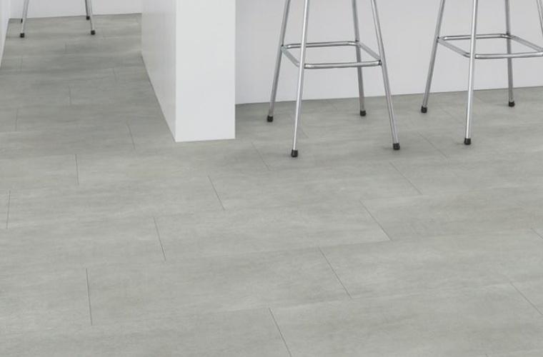 купить кварцвиниловую плитку бетон
